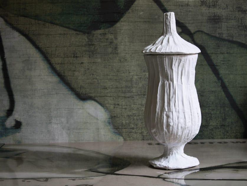 Ceramic storage box SALOMON by N.O.W.  Edizioni