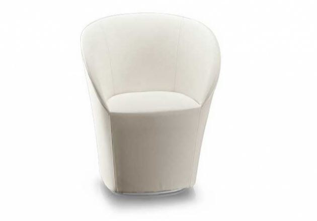 Upholstered fabric easy chair MADDY - Sedes Regia