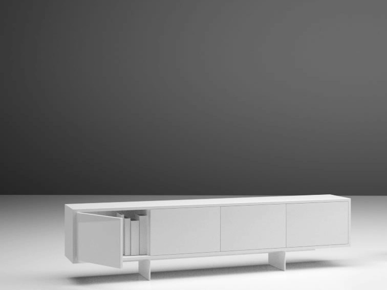Laminate sideboard / office storage unit AUXILIUM | Laminate sideboard - RECHTECK Felix Schwake