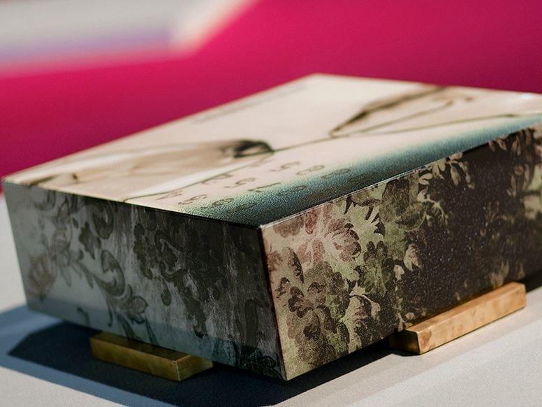 Low square resin coffee table TOMORROW | Coffee table by N.O.W.  Edizioni