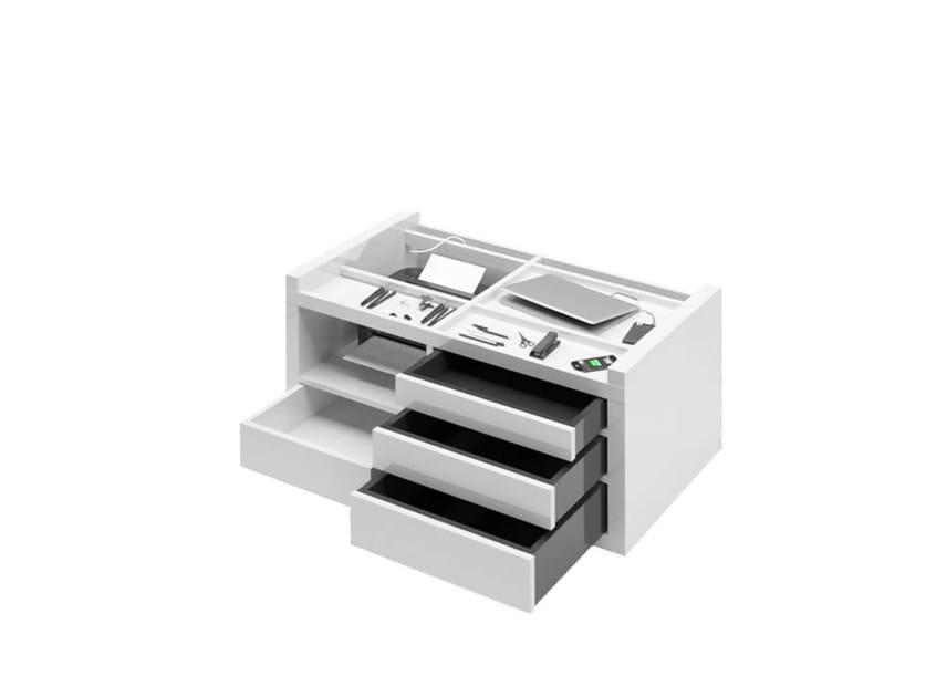 Laminate office storage unit / office drawer unit DIGERIES by RECHTECK