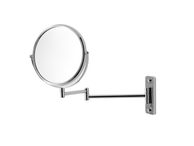 Round wall-mounted shaving mirror D-CODE | Shaving mirror - DURAVIT