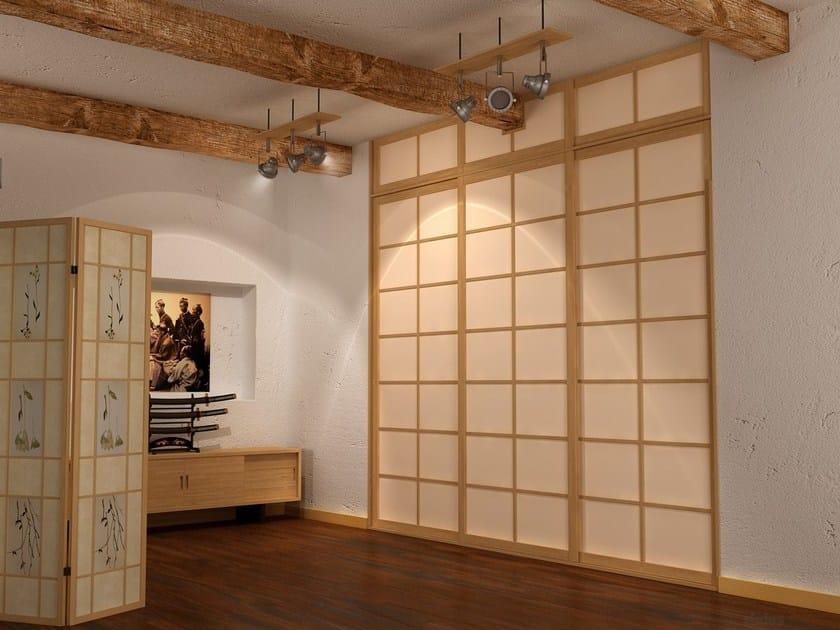 Parete manovrabile scorrevole in legno shoji parete for Legno giapponese
