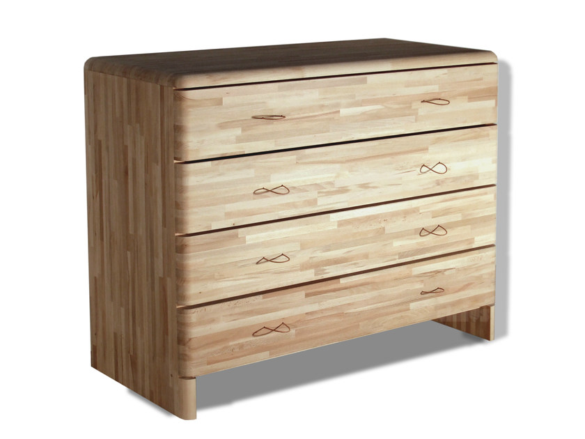 Beech chest of drawers MARU | Chest of drawers - Cinius