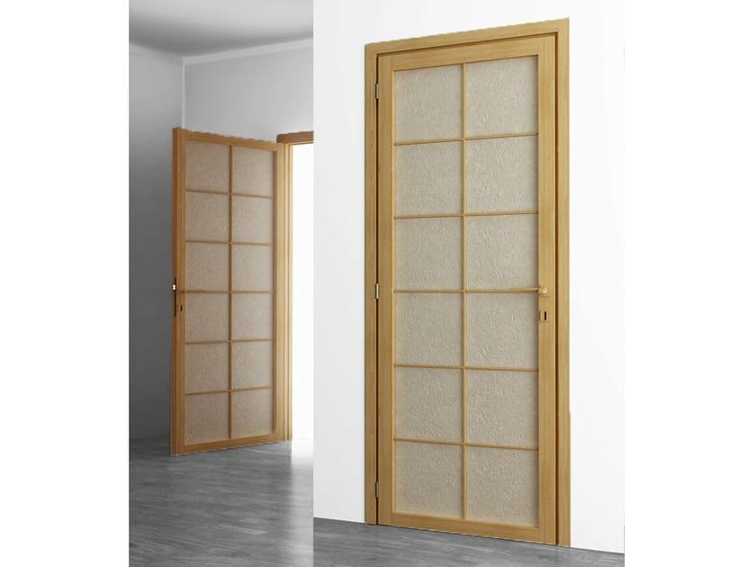 Hinged wooden door Hinged door - Cinius