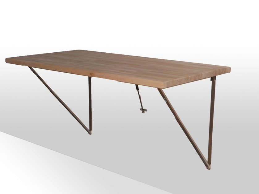 Table rabattable by cinius design fabio fenili - Table bar murale ...