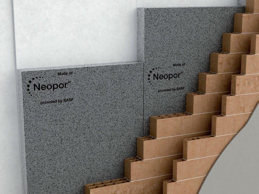 Neopor® thermal insulation panel Neopor®-Isolamento con controplaccaggio - Neopor® by BASF