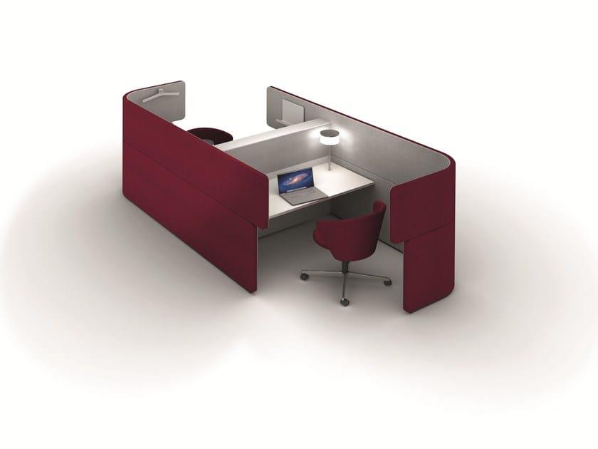 Office workstation DOCKLANDS Dock-In Bay - BENE