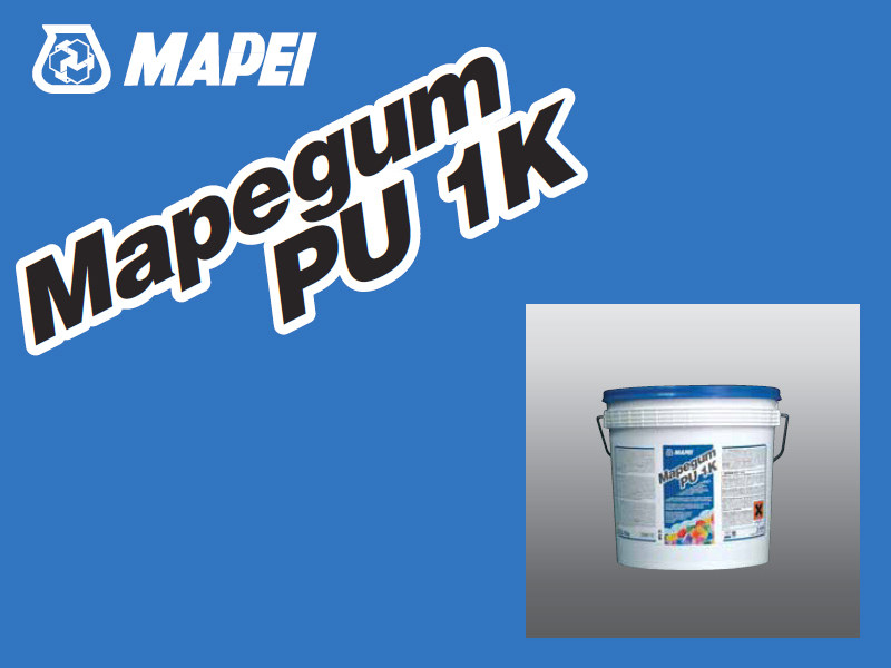 Tile adhesive MAPEGUM PU 1K by MAPEI