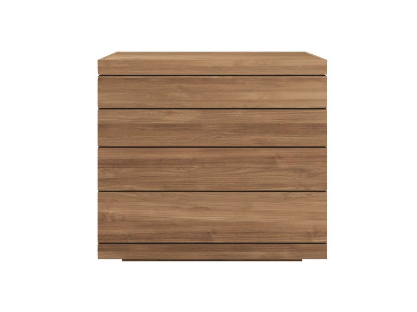 Free standing teak chest of drawers TEAK BURGER | Teak chest of drawers - Ethnicraft
