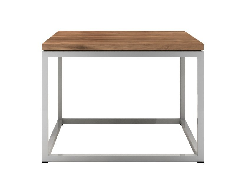 Rectangular teak coffee table TEAK THIN | Rectangular coffee table by Ethnicraft