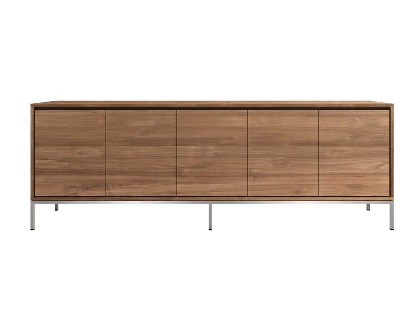 Teak sideboard with doors TEAK ESSENTIAL | Sideboard with doors - Ethnicraft