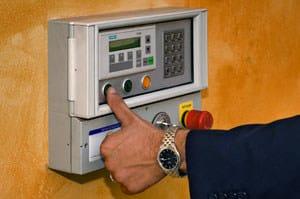 Pannello di controllo per la movimentazione degli impianti