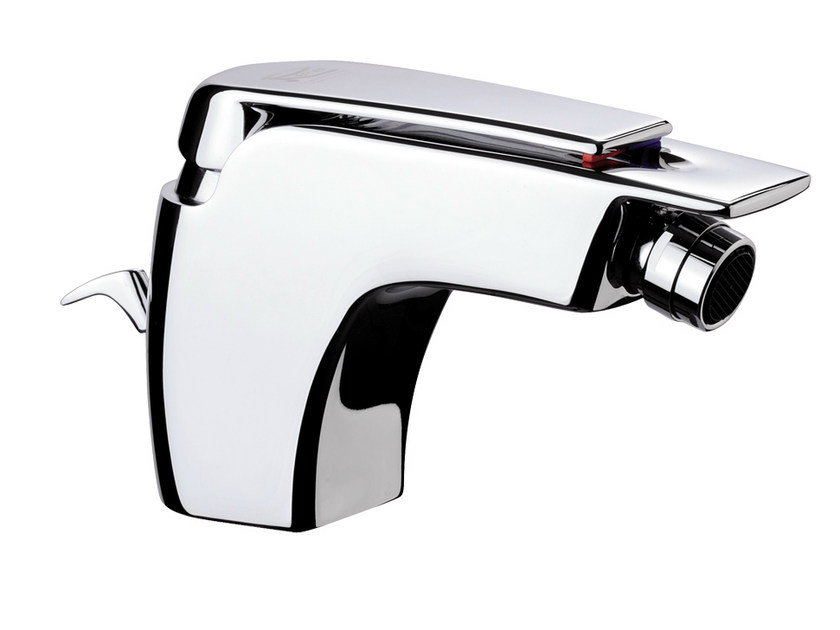 Chrome-plated single handle bidet mixer ATMOS | Bidet mixer by Remer Rubinetterie