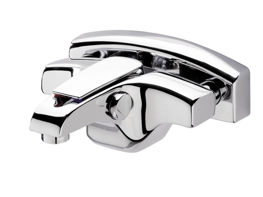 Wall-mounted single handle bathtub mixer ATMOS | Bathtub mixer - Remer Rubinetterie