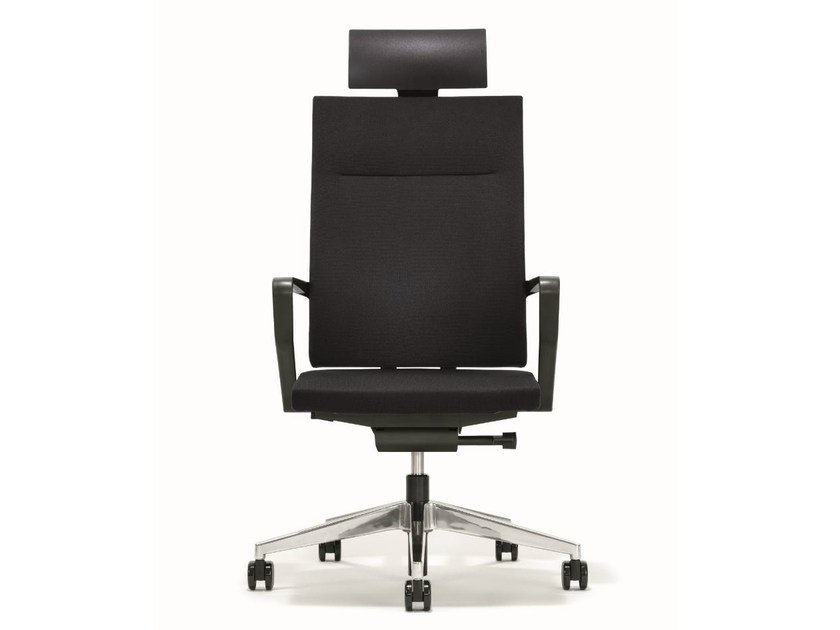 Swivel executive chair with headrest B_RUN | Executive chair with headrest - BENE