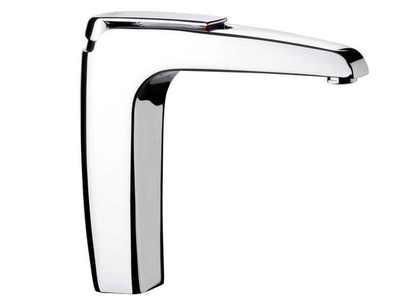 Chrome-plated 1 hole kitchen mixer tap ATMOS | Kitchen mixer tap - Remer Rubinetterie