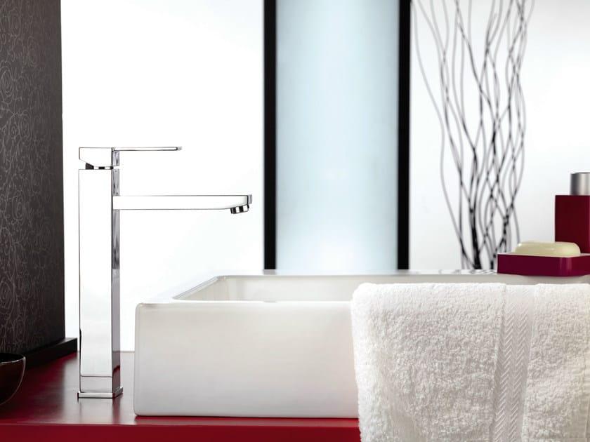 Single handle 1 hole washbasin mixer QUBIKA | 1 hole washbasin mixer - Remer Rubinetterie