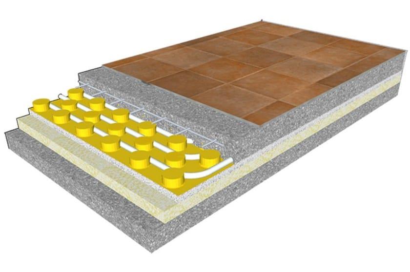 Radiant floor panel ECOfloor E - Rossato Group