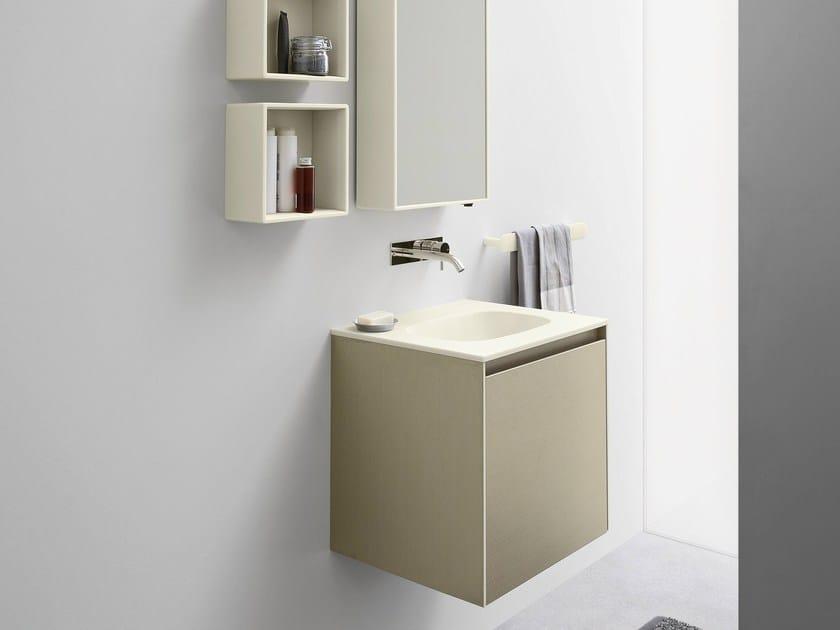 Square wall-mounted handrinse basin MOODE | Handrinse basin - Rexa Design