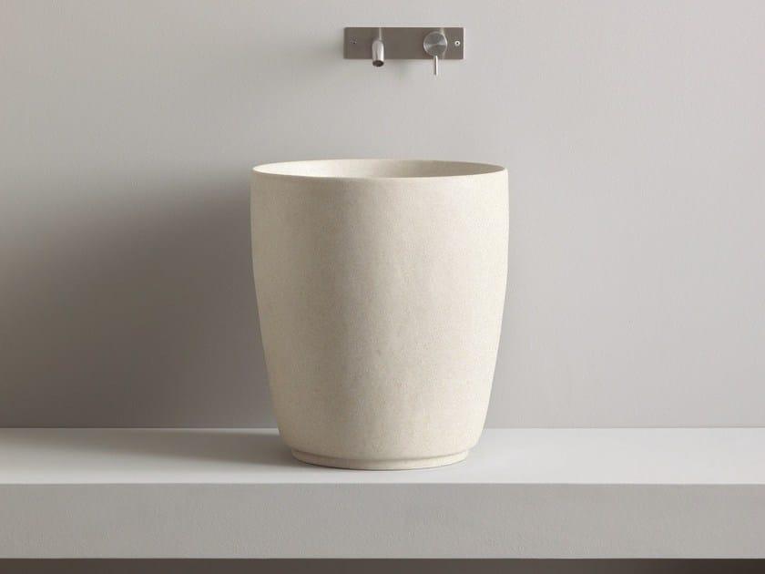 Countertop Cocciopesto washbasin JAPAN   Cocciopesto washbasin - Rexa Design