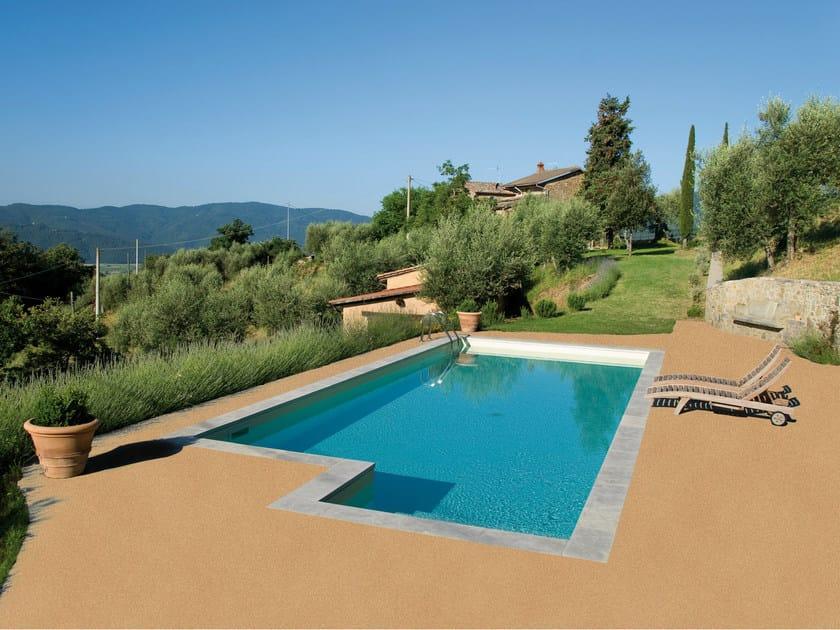 Outdoor resin continuous flooring U.D. PROMENADE - IPM Italia