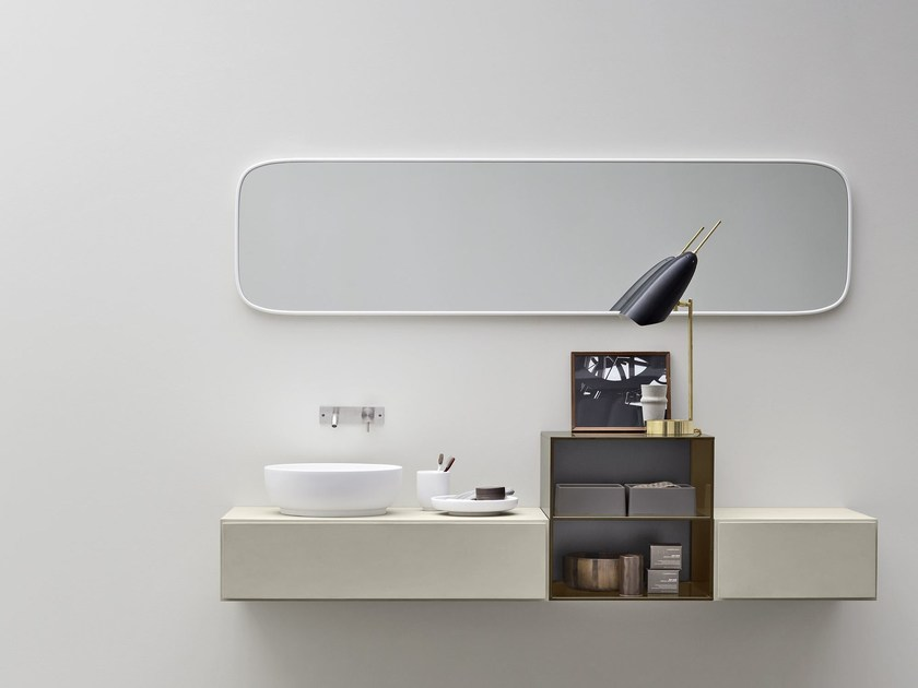 Single ecomalta vanity unit ESPERANTO | Single vanity unit - Rexa Design