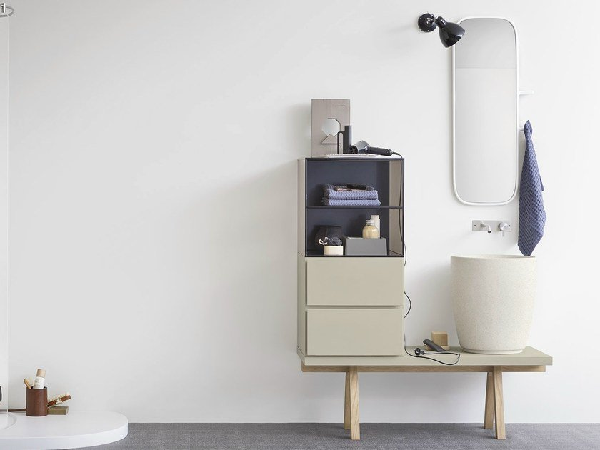 Single ecomalta vanity unit ESPERANTO | Ecomalta vanity unit - Rexa Design