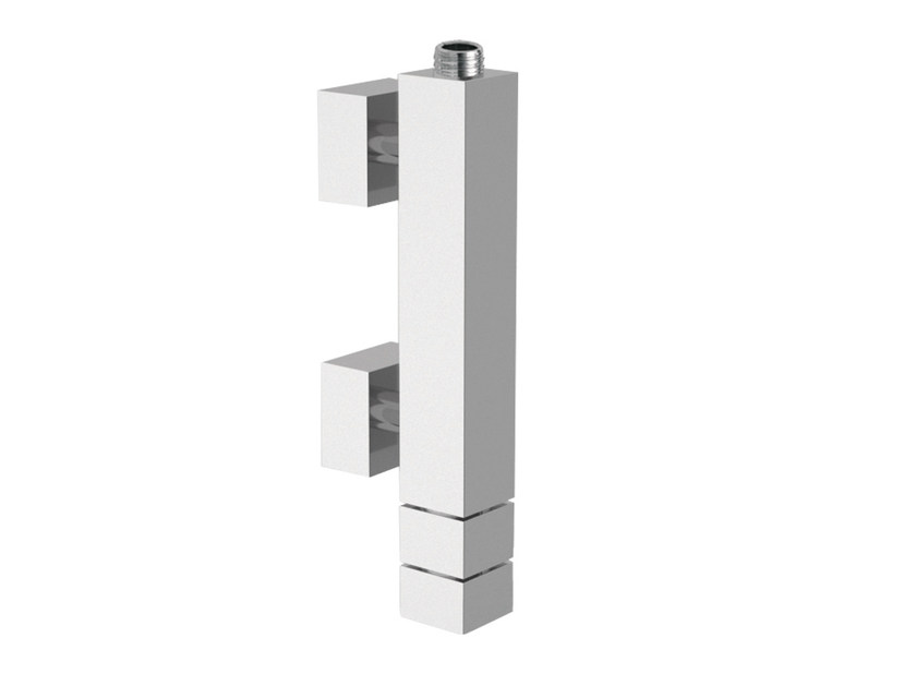 Chrome-plated thermostatic shower mixer QUBIKA THERMO | Thermostatic shower mixer - Remer Rubinetterie