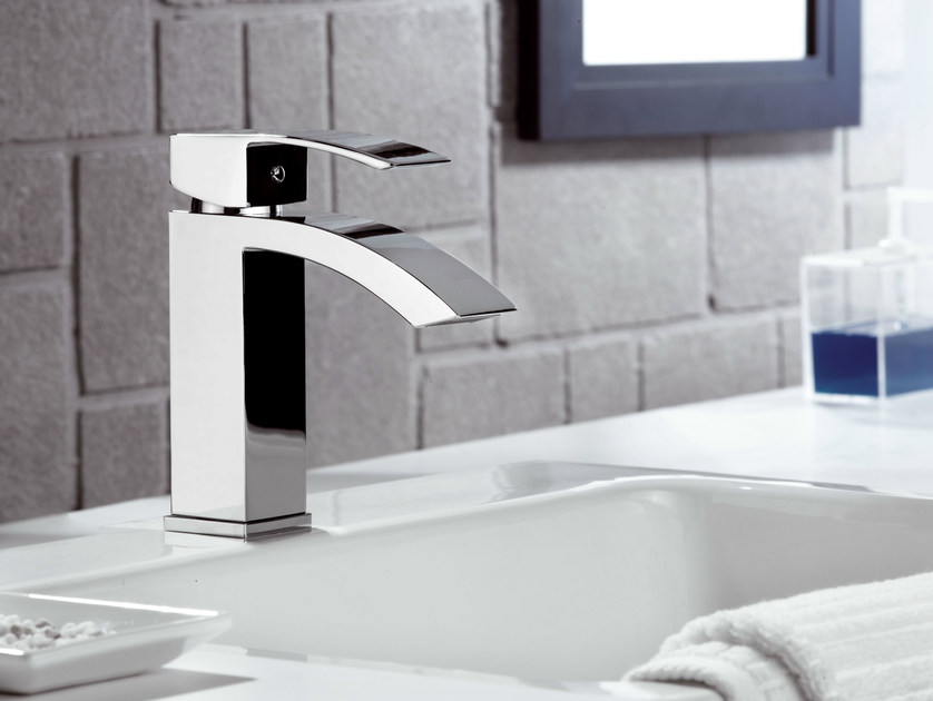 Miscelatore per lavabo cromo monocomando marte miscelatore per lavabo rubinetterie mariani - Rubinetti lavabo bagno ...