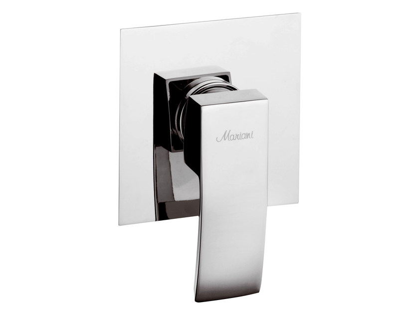 Chrome-plated single handle shower mixer MARTE | Chrome-plated shower mixer - Rubinetterie Mariani
