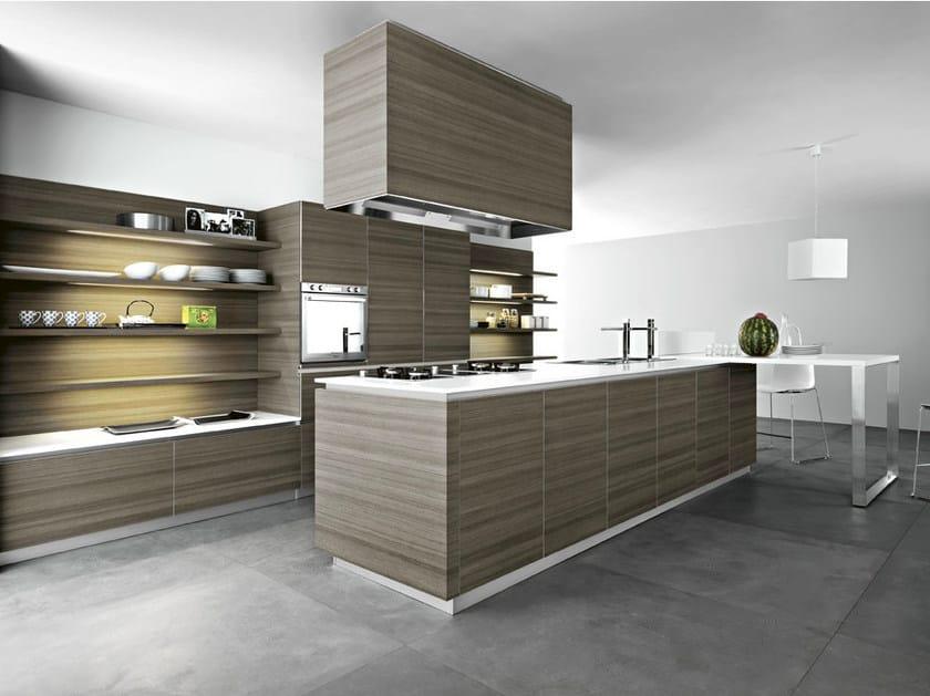 Fitted kitchen ARIEL - COMPOSITION 5 - Cesar Arredamenti