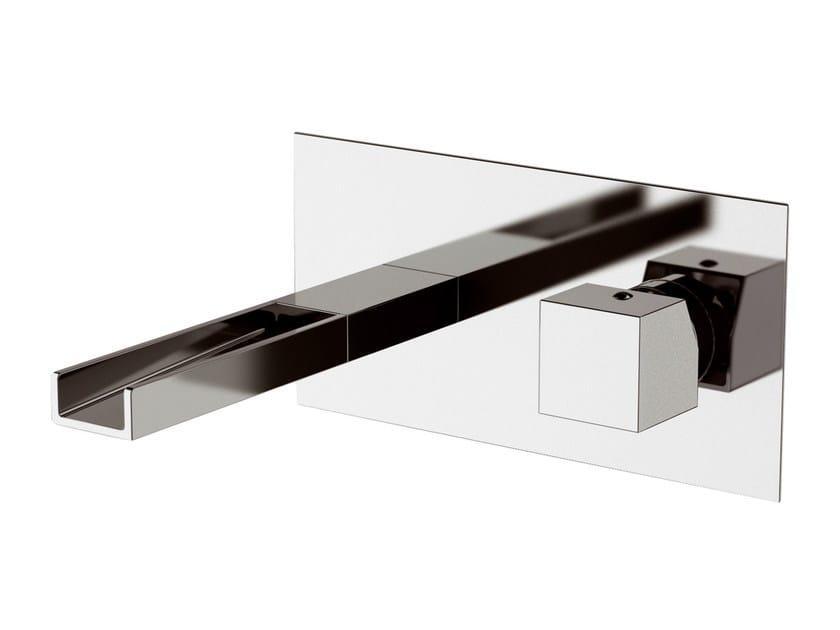 Wall-mounted washbasin mixer RIVER   Wall-mounted washbasin mixer - Rubinetterie Mariani