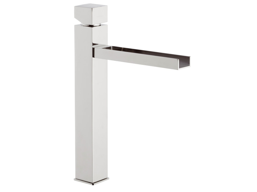 Chrome-plated washbasin mixer without waste RIVER | Washbasin mixer - Rubinetterie Mariani