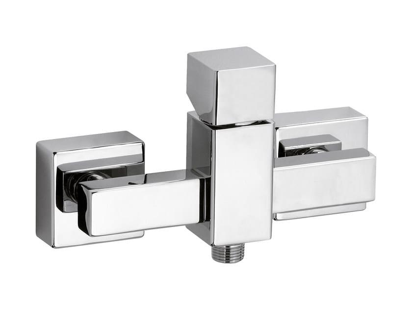 Chrome-plated single handle shower mixer RIVER | Shower mixer - Rubinetterie Mariani