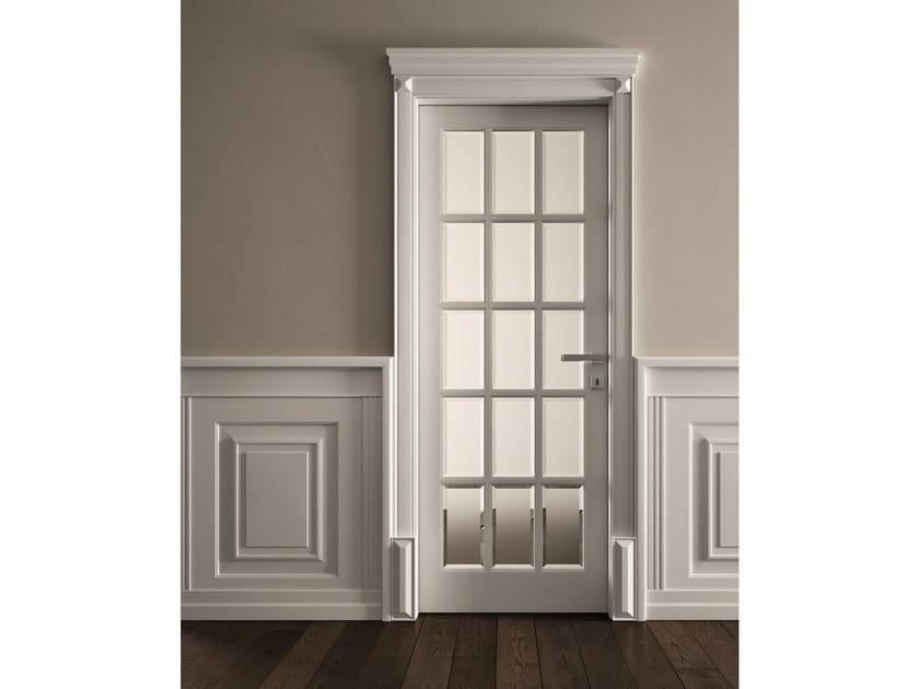Hinged glass door DORE' | Glass door - GAROFOLI