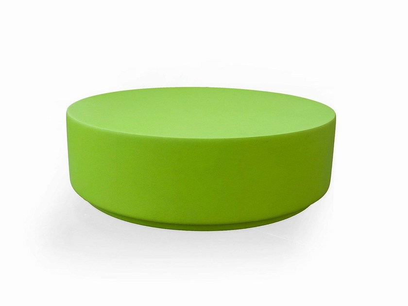 Backless QM Foam bench seating ROUND 02 by Quinze & Milan