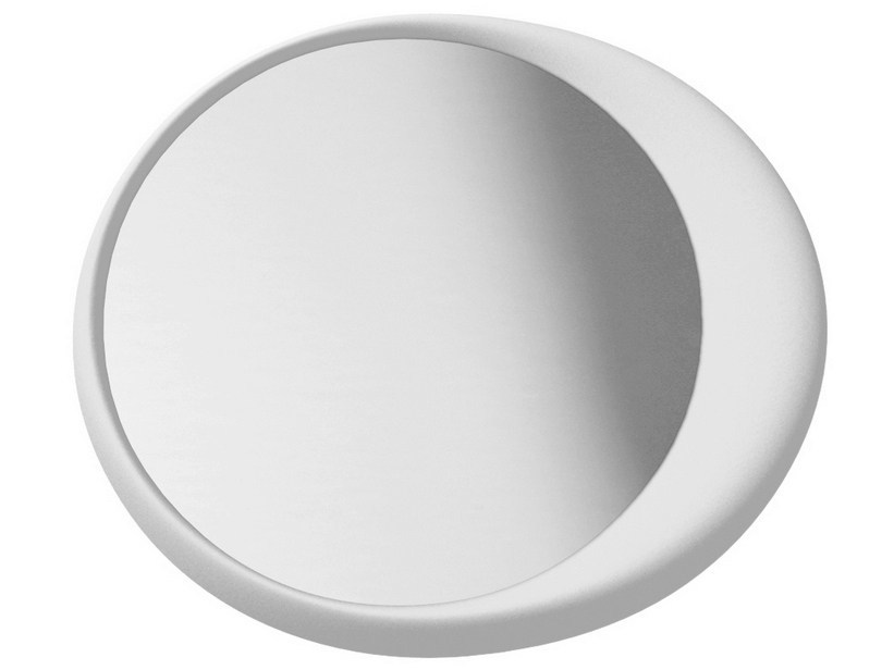 Round wall-mounted shaving mirror ECLISSE - Geelli by C.S.