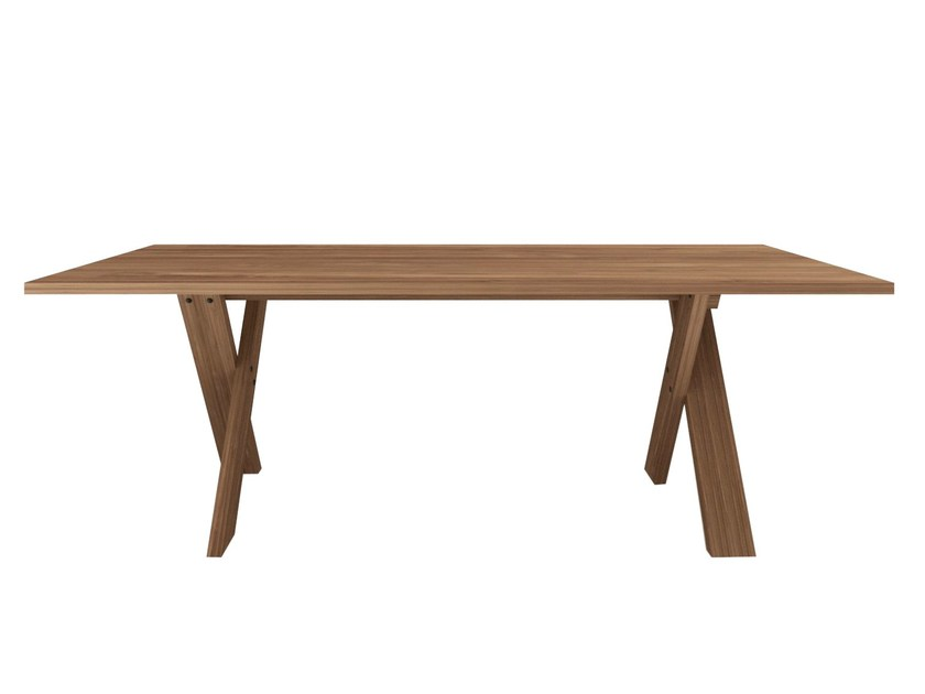 Rectangular teak dining table TEAK PETTERSON | Table - Ethnicraft