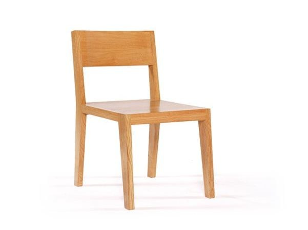 Wooden chair ROOM 26 CHAIR 02 by Quinze & Milan
