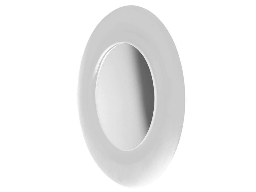 Round polyurethane gel bathroom mirror MIEBRAME - Geelli by C.S.