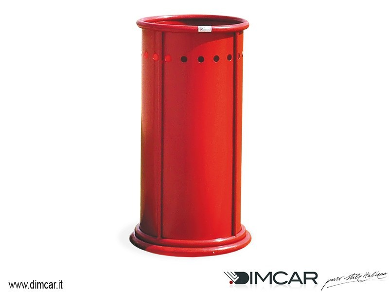 Outdoor metal waste bin Enea - DIMCAR
