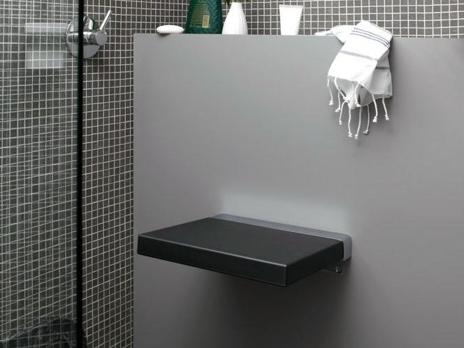 Folding polyurethane shower Seat QUADRA | Shower Seat - Geelli by C.S.