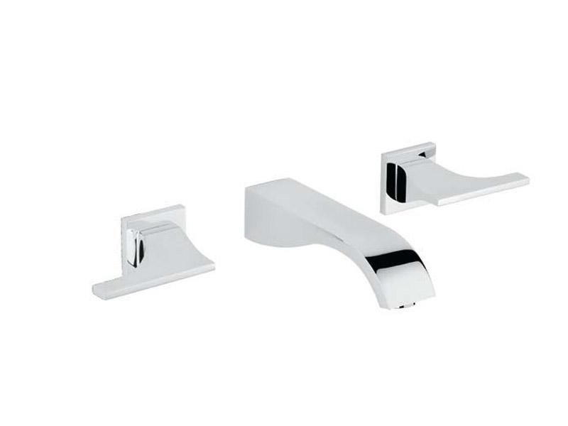 3 hole wall-mounted washbasin tap PURE | Washbasin tap - INTERCONTACT