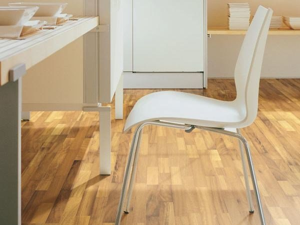 Floating iroko parquet MYRNA - Woodco