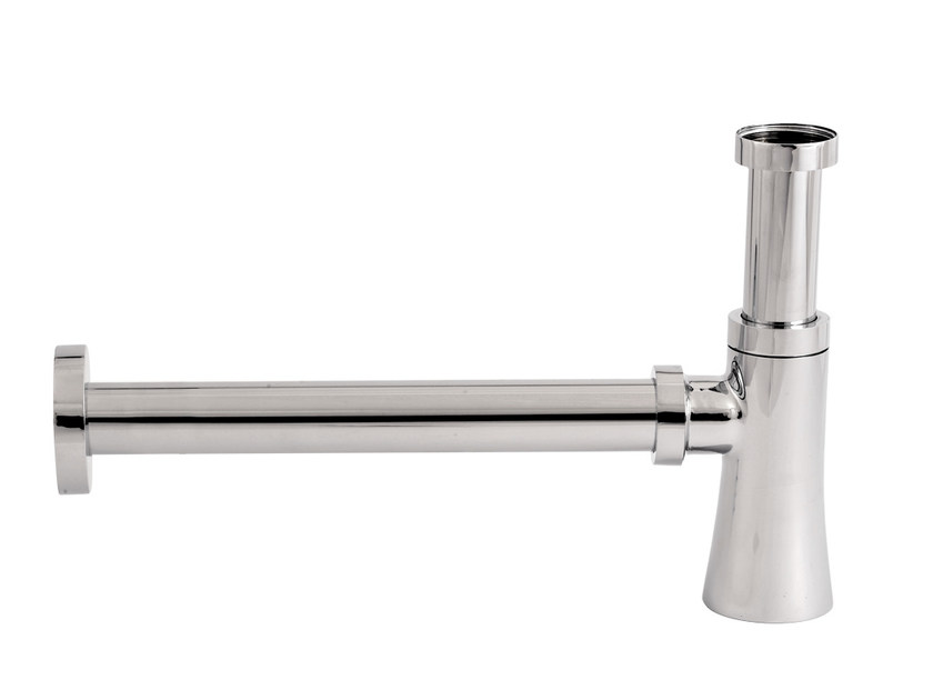 Chromed brass sink siphon DIVA   Sink siphon - Daniel Rubinetterie