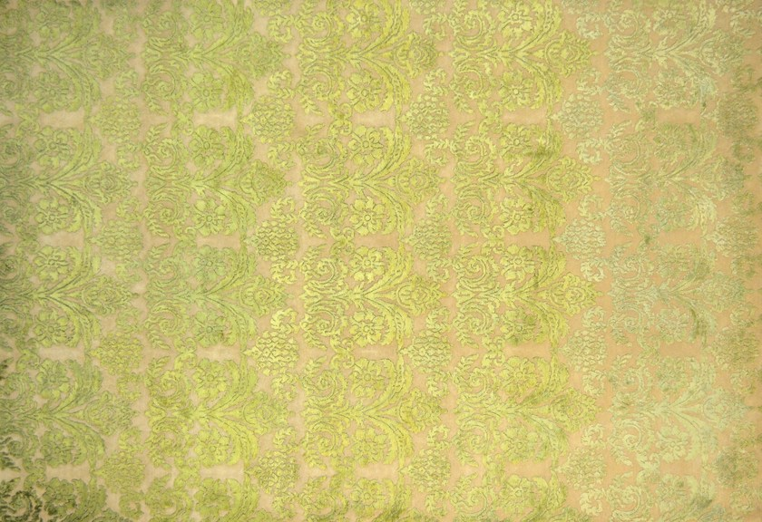 Rectangular wool rug with floral pattern LOFT L09B - Mohebban