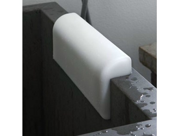 Polyurethane gel bathtub headrest COMFORT S - Geelli by C.S.