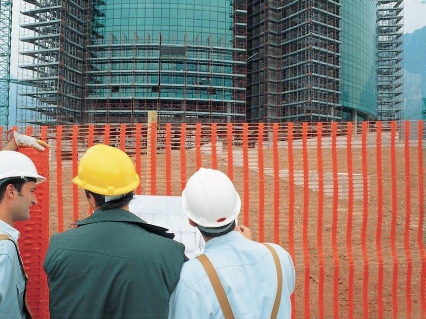 Building site fencing DRAGON by TENAX