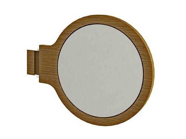 Round wall-mounted shaving mirror MOOD | Shaving mirror - NOKEN DESIGN